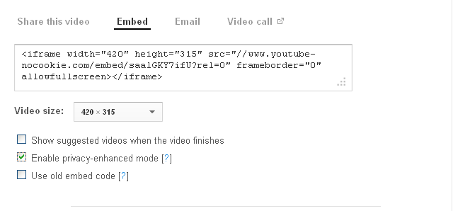 how to add youtube to website