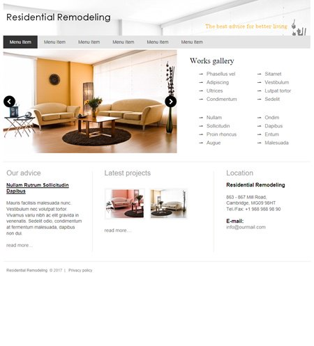 Website Realizer Template Websites Page 1